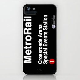Crossroads Arena Special Events Station iPhone Case