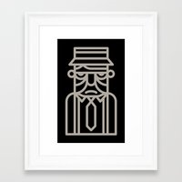 motivation Framed Art Prints featuring Motivation by KOMBOH