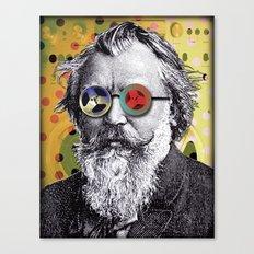Brahms in Reel to Reel Glasses Canvas Print