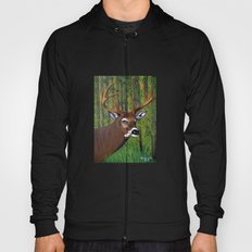 Buck by the forest Hoody