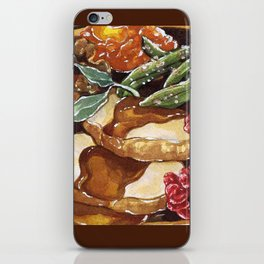 Turkey Dinner iPhone Skin