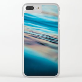 Oily Reflection Clear iPhone Case