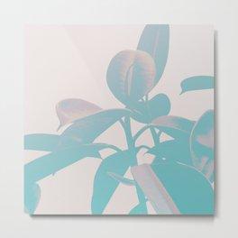 Pastel Botanic Metal Print