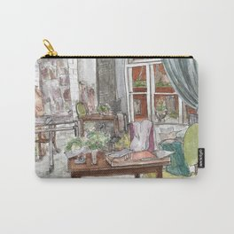 Will and Grace - Grace Adler Designs Studio Watercolor Painting Carry-All Pouch