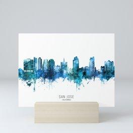 San Jose California Skyline Mini Art Print