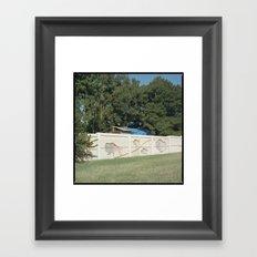 Buffalo Run Framed Art Print