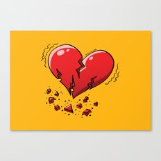 Extreme Heartquake Canvas Print