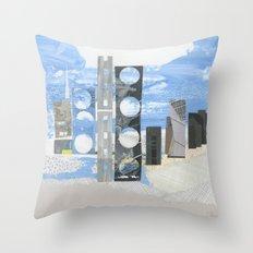 In Between Sea & Sky Throw Pillow