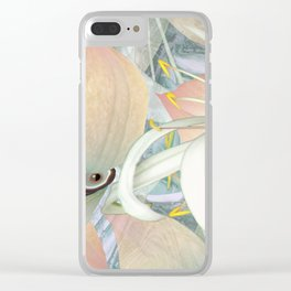 Planet of Flowers Abstract Clear iPhone Case