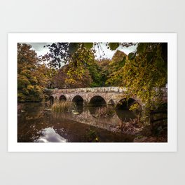 Bridge over the Stour Art Print