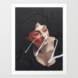 Consideration Art Print