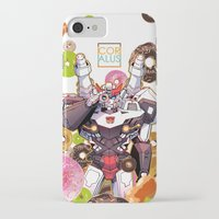 donuts iPhone & iPod Cases featuring Donuts by Coralus