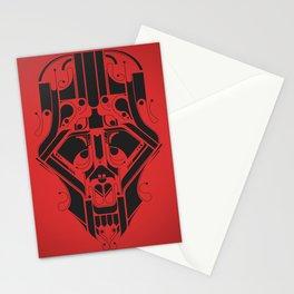 SkullHead 02 Stationery Cards