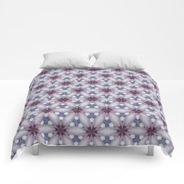 Flowers and Strass Comforters