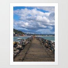 Aguadilla coast 5 Art Print