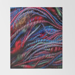 Handspun - December Throw Blanket