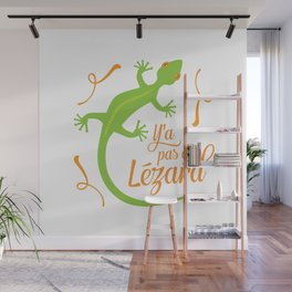 There's No Lizard Wall Mural