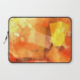 Orange rectangle coctail Laptop Sleeve