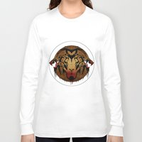wildlife Long Sleeve T-shirts featuring wildlife unleashed by Christophe Chiozzi