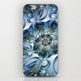 Dynamic Spiral, Abstract Fractal Art iPhone Skin