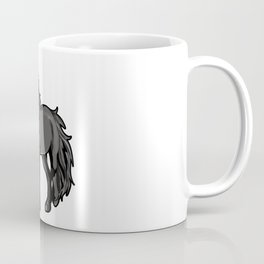 Percheron Draft Horse Pony Coffee Mug