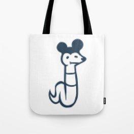 Bick Bause - Pixelated Tote Bag