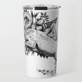 Goat  - Go Vegan Travel Mug