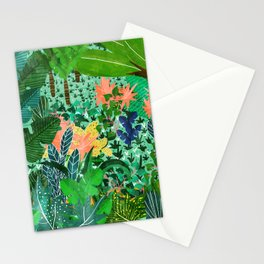 Dense Forest Stationery Cards