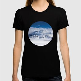 Life is either a daring adventure or nothing at all. ICELAND (Helen Keller Quote) T-shirt