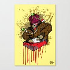 My Half Blood DJ Canvas Print