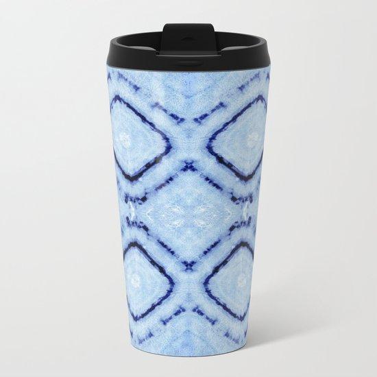 Tie-Dye Dia Sky Metal Travel Mug