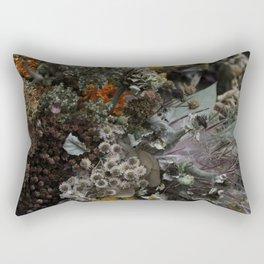Dried Autumn Wildflowers Rectangular Pillow