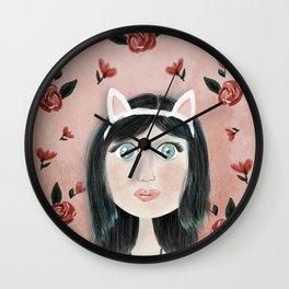 Ms Kitty Wall Clock