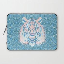 Pastel Quartz Tiger Laptop Sleeve