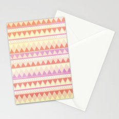 Summer Aztec Pattern Stationery Cards