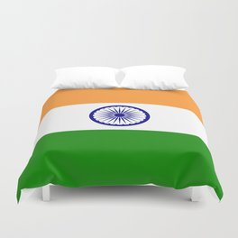 India: Indian Flag Duvet Cover