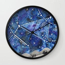 Summer Constellation Wall Clock