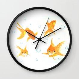 Goldfish! Wall Clock