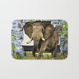 African Elephant Bath Mat