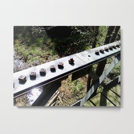 The Bridge Metal Print