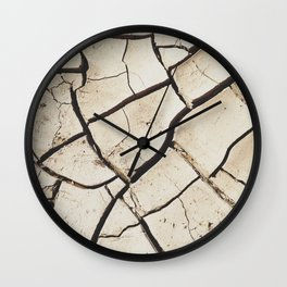 The absence of water Wall Clock