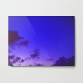 Sky- When Im With You Metal Print