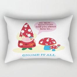 Greata The Gnome It All  Rectangular Pillow