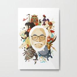 Miyazaki-San Metal Print