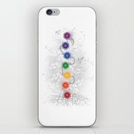 Chakra Tree Art iPhone Skin
