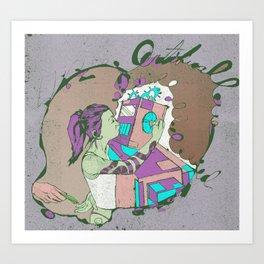 Artificial Love Art Print