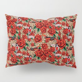lucky devil pinup Pillow Sham