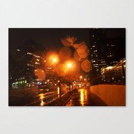 Rainy Morning Ring Balls Canvas Print