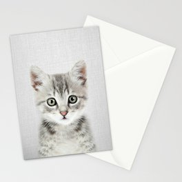 Kitten - Colorful Stationery Cards