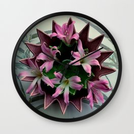 Point A To Point C Wall Clock